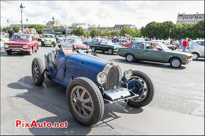 Bugatti 35B Grand Prix 1926, Traversee de Paris estivale
