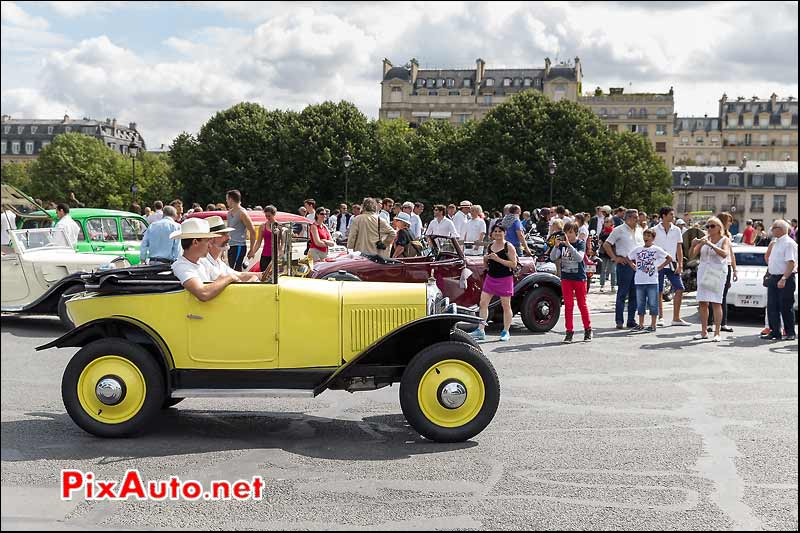 Citroen 5HP, Traversee de Paris estivale