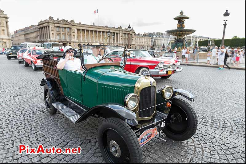 Citroen 5HP C3, Traversee de Paris estivale