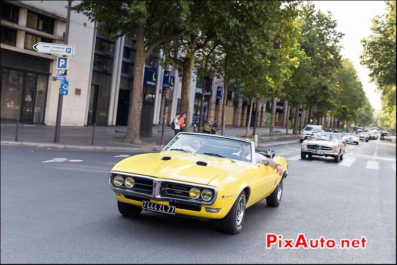 Pontiac Firebird 400 Convertible, Traversee de Paris estivale