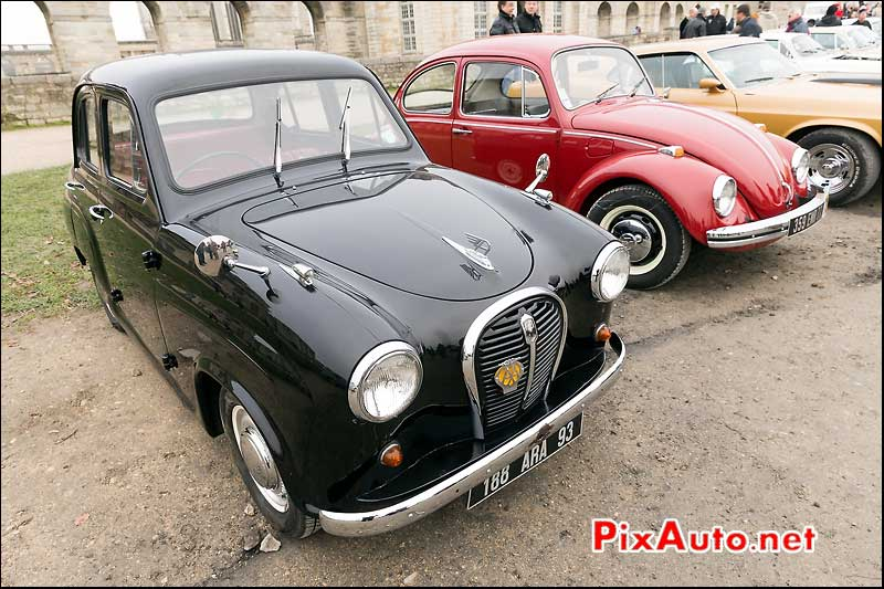 Austin A30, Traversee de Paris 2014