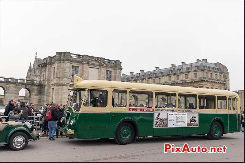 Bus Somua OP5, Traversee de Paris 2014