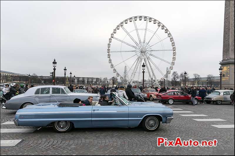 Chevrolet Impala SS, Traversee de Paris 2014