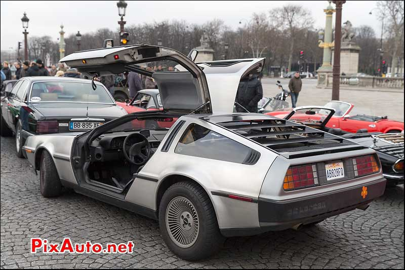 Delorean DMC12, Traversee de Paris 2014