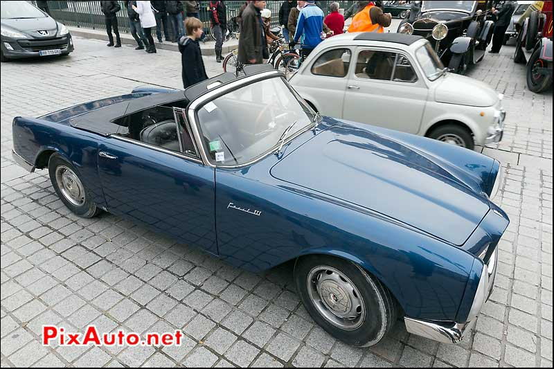Cabriolet Facel Vega III, Traversee de Paris 2014