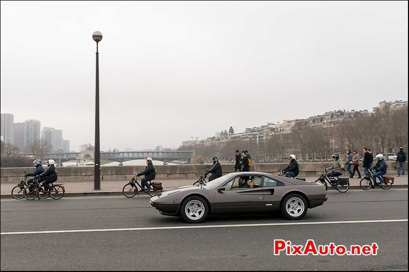 Ferrari 308 GTB, Traversee de Paris 2014