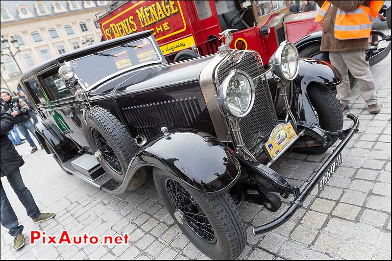 Hispano Suiza, Traversee de Paris 2014