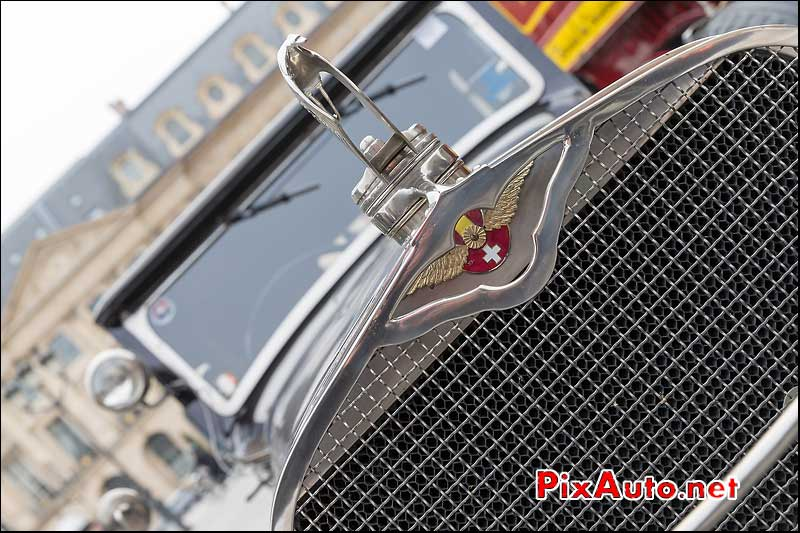 Mascotte Hispano Suiza, Traversee de Paris 2014