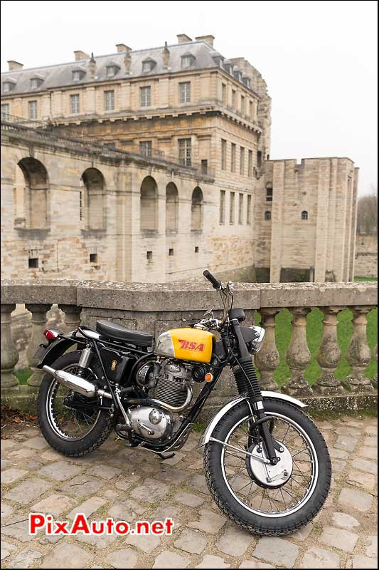 Scrambler BSA, Traversee de Paris 2014