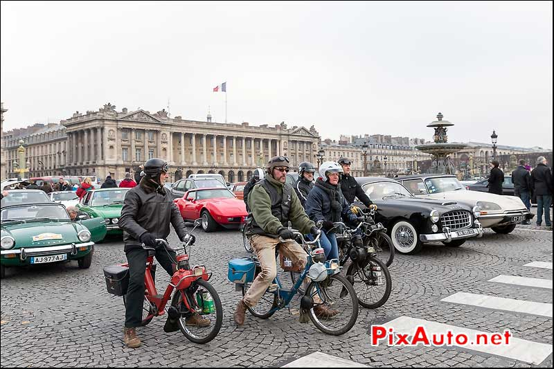 Solex 3800, Traversee de Paris 2014
