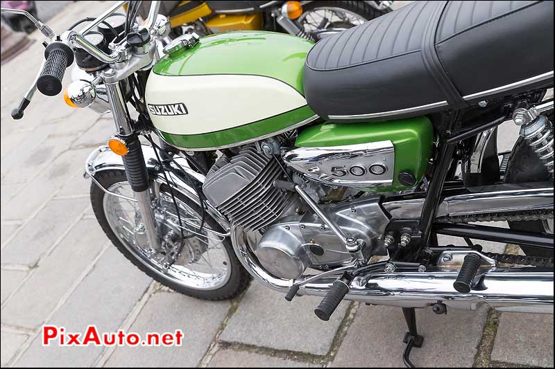 Suzuki T500, Traversee de Paris 2014