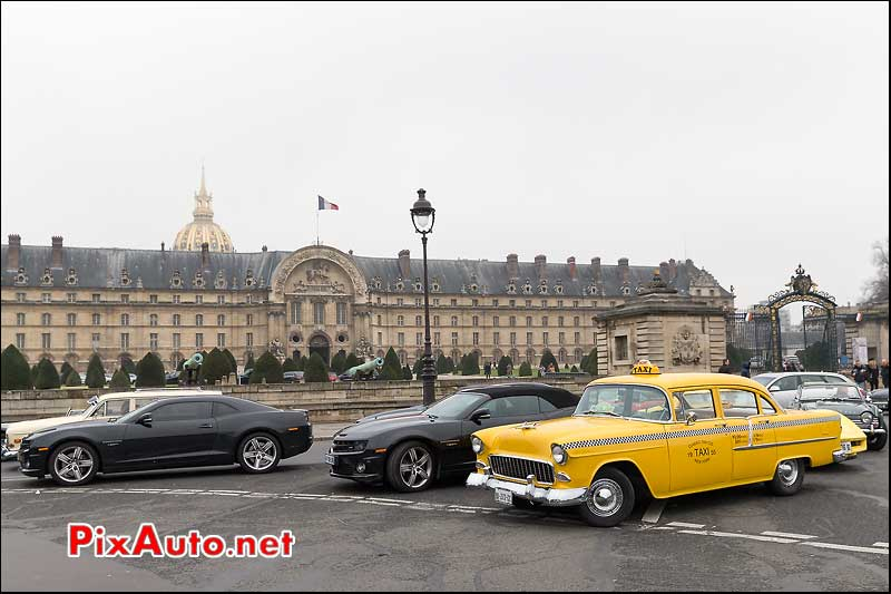 Taxi Chevry de 1955, Traversee de Paris 2014