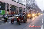 Tracteurs avenue Daumesnil, Traversee de Paris 2014