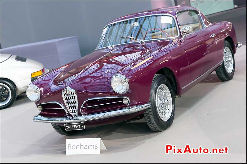 Alfa Romeo 1900C Super Sprint, vente encheres Bonhams Paris 2014