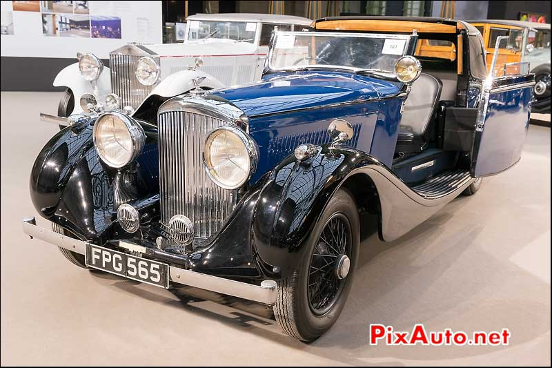 Bentley Carrosserie James Young, vente encheres Bonhams Paris