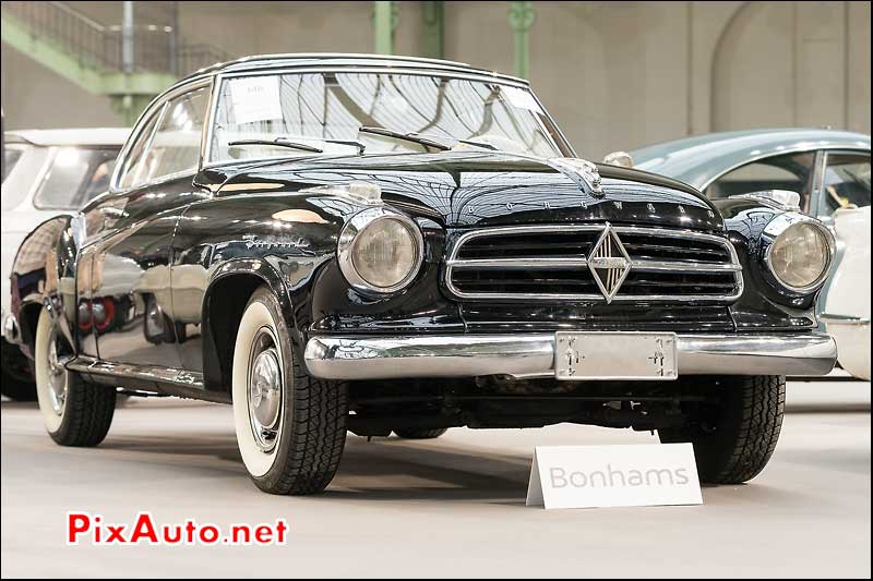 Borgward Isabella 1957, vente Bonhams Paris 2014