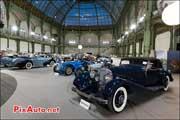 Mercedes Benz 500K Cabriolet, Exposition Bonhams grand-palais 2014