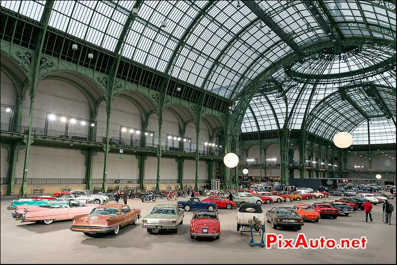 Exposition Automobiles Grand Palais, vente encheres Bonhams Paris