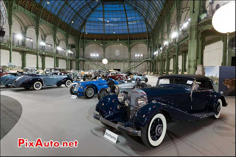 Mercedes Benz 500K Cabriolet, ventes encheres Bonhams Paris