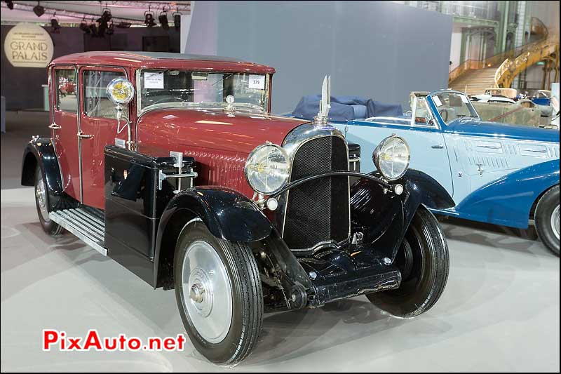 Voisin C23 Berline, vente encheres Bonhams Paris 2014