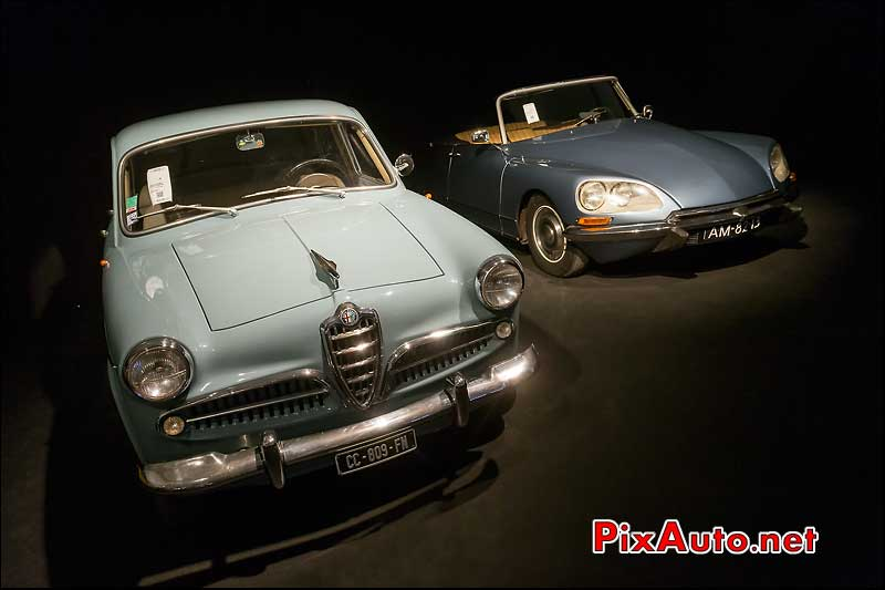 Alfa Romeo Giulietta et Citroen DS, RM-Auctions Paris