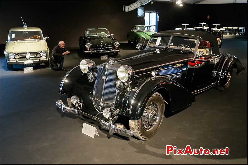 Horch 853a Sportcabriolet #854402, RM-Auctions Paris