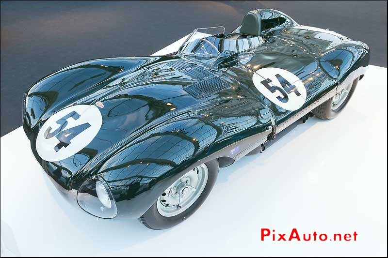 Jaguar D-Type de 1955, RM-Auctions Paris