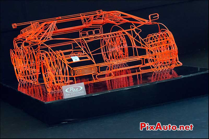 Sculpture Lamborghini Countach Benedic Radcliffe, RM-Auctions Paris