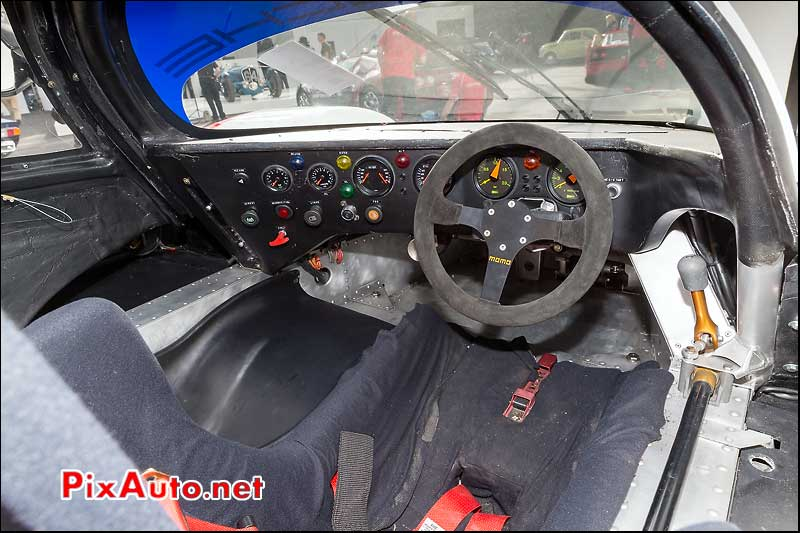 Tableau de bord Porsche 956, RM-Auctions Paris