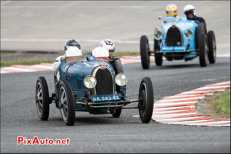 Coupes-de-Printemps 2015, Bugatti 35T Chicane Sud circuit Montlhery