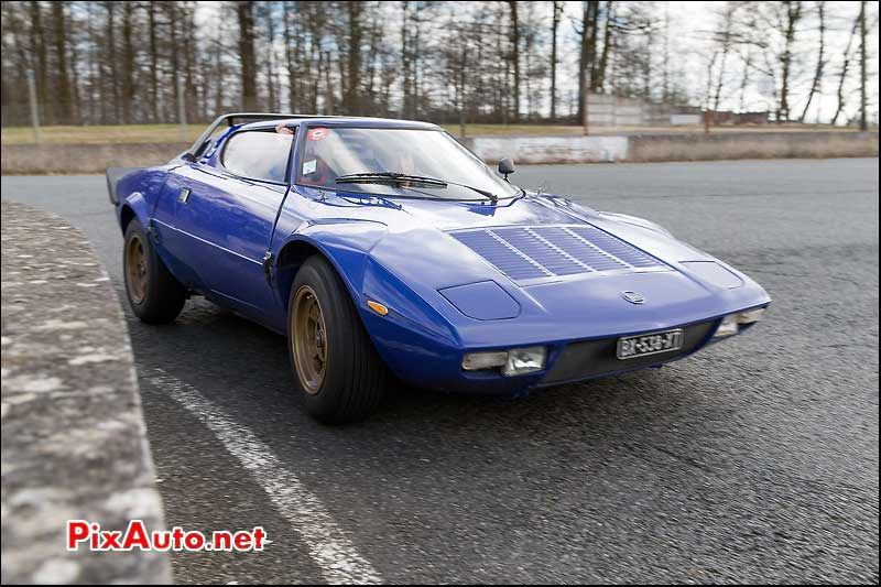 Coupes-de-Printemps, Lancia Stratos Epingle Des Deux Ponts Montlhery