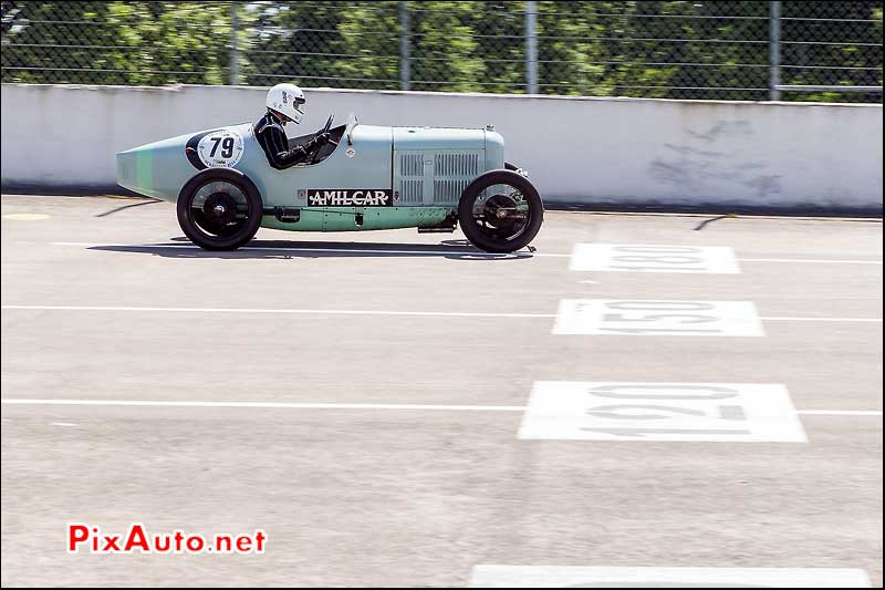 Vintage Revival Montlhery 2015, Amilcar CGSS