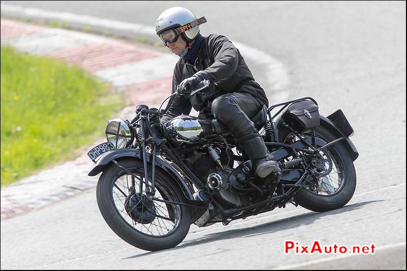 Vintage Revival Montlhery 2015, Brough Superior SS80