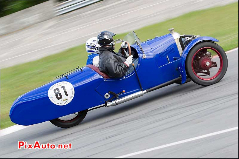 Vintage Revival Montlhery 2015, Darmont Special dans Chicane Nord
