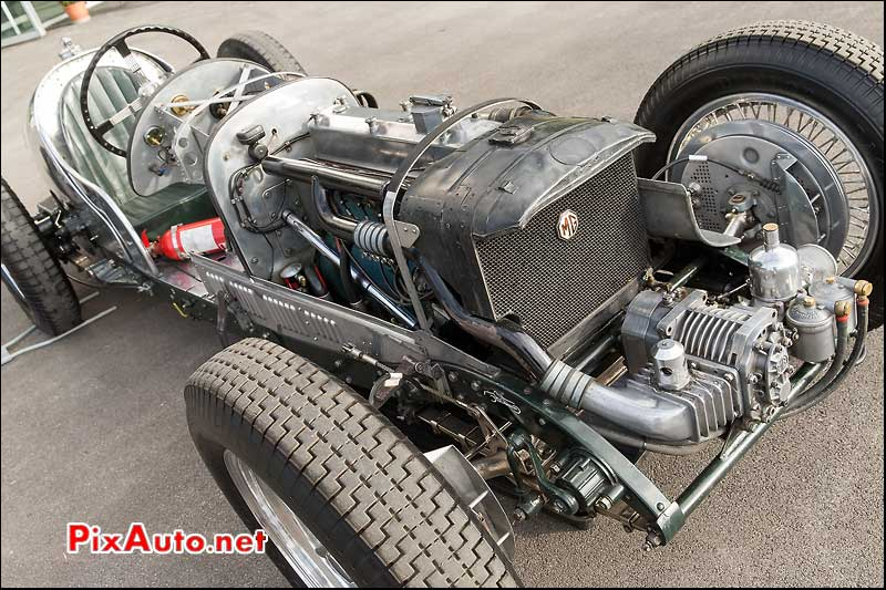 Vintage Revival 2015, MG Na Magnette Monoposto Chassis