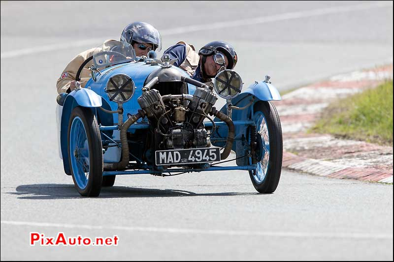 Vintage Revival Montlhery 2015, Tricyclecar Darmont Special