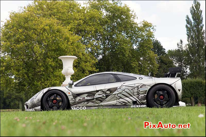Chantilly-Arts-&-Elegance-Richard-Mille, Art Car McLaren Signee Cesar 1995