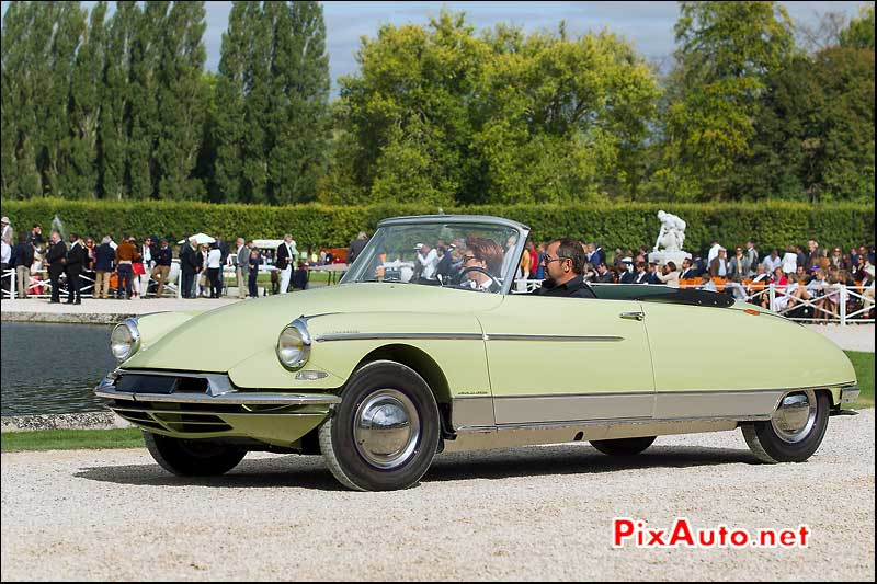 Chantilly-Arts-&-Elegance-Richard-Mille, Citroen DS 19 La Croisette
