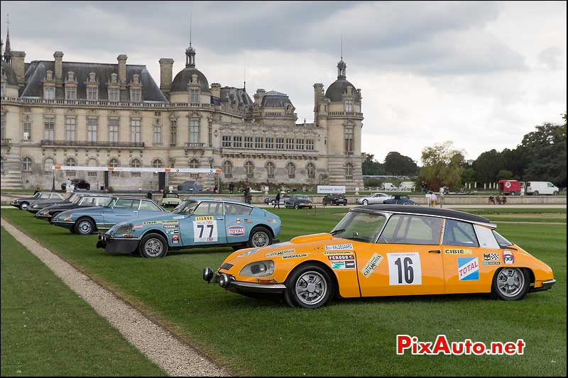 Chantilly-Arts-&-Elegance-Richard-Mille, Citroen DS Prototype Chamonix
