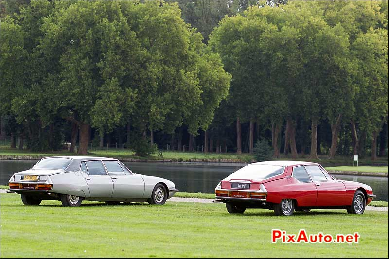 Chantilly-Arts-&-Elegance-Richard-Mille, Citroen SM Opera et SM V8