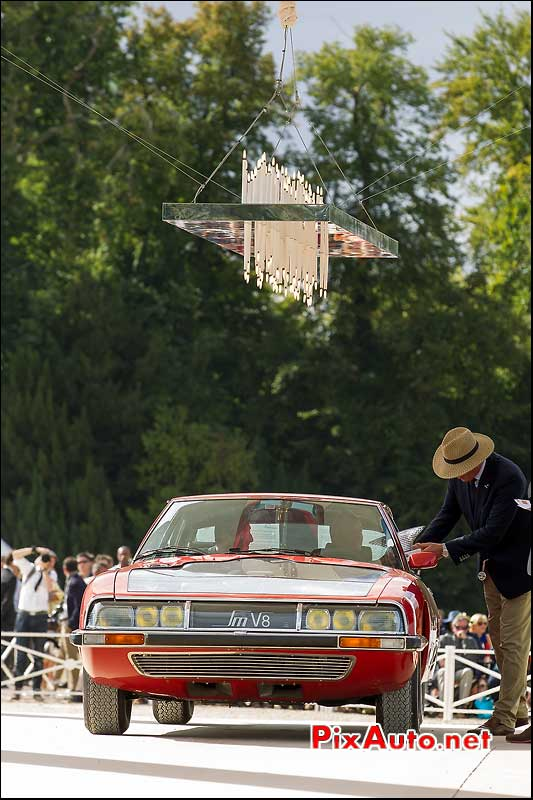 Chantilly-Arts-&-Elegance-Richard-Mille, Citroen SM V8