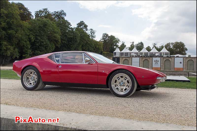 Chantilly-Arts-&-Elegance-Richard-Mille, De Tomaso Pantera