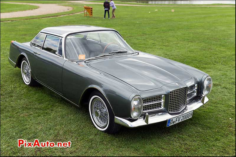 Chantilly-Arts-&-Elegance-Richard-Mille, Facel Vega HK2