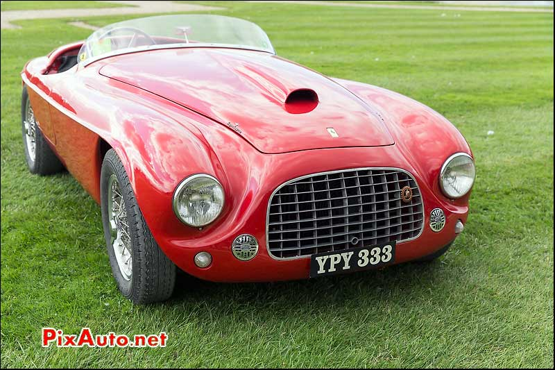 Chantilly-Arts-&-Elegance-Richard-Mille, Ferrari 166 MM Barchetta