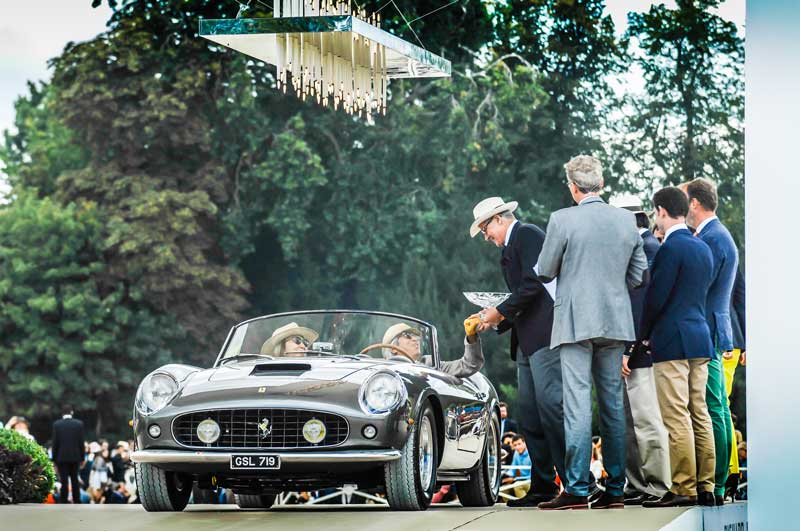 Chantilly-Arts-&-Elegance-Richard-Mille 2015, Ferrari 250GT California