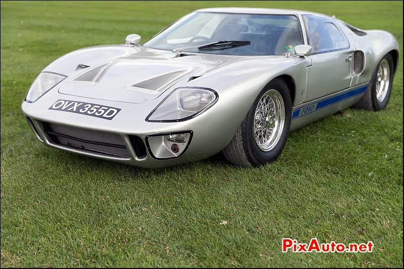 Chantilly-Arts-et-Elegance-Richard-Mille 2015, Ford GT40