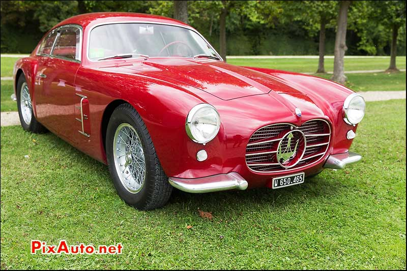 Chantilly-Arts-et-Elegance-Richard-Mille, Maserati A6 Coupe Zagato