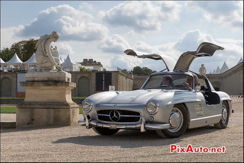 Chantilly-Arts-&-Elegance-Richard-Mille, Mercedes-Benz 300SL