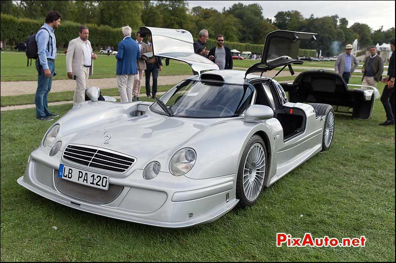 Chantilly-Arts-et-Elegance-Richard-Mille, Mercedes-Benz CLK-LM Strassenversion