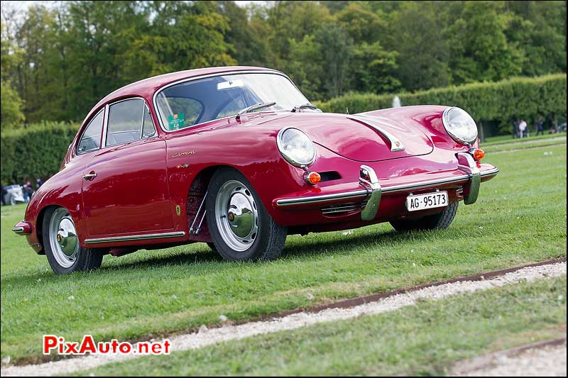 Chantilly-Arts-et-Elegance-Richard-Mille, Porsche 356 Carrera 2